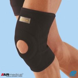Neoprenowy stabilizator stawu kolanowego wciągany z osłoną rzepki