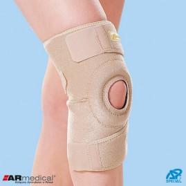 Neoprenowy stabilizator stawu kolanowego zapinany długi/krótki