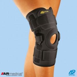 Neoprenowa orteza stawu kolanowego z regulacją kąta zgięcia – wciągana/zapinana