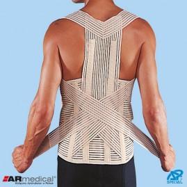 Wysoka sznurówka ortopedyczna z podpaszkami