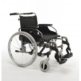 Wózek ze stopów lekkich dla osób ciężkich