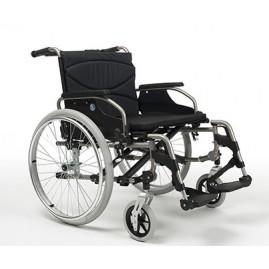 Solidny wózek ze stopów lekkich dla osób ciężkich