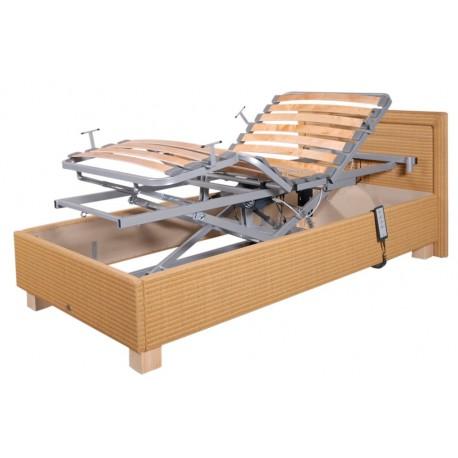 Łóżko rehabilitacyjne PB 532 - stylizowane na domowe