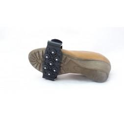 Antypoślizgowe raki na buty damskie