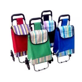 Trójkołowy wózek na zakupy