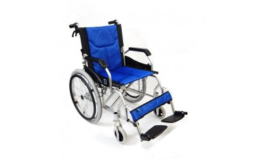 Tani lekki wózek inwalidzki aluminiowy FS 906