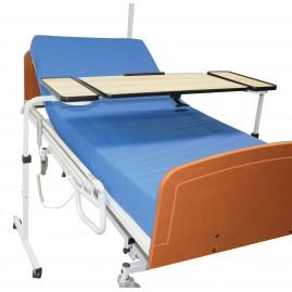 Stolik stawiany nad łóżko z regulacją wysokości