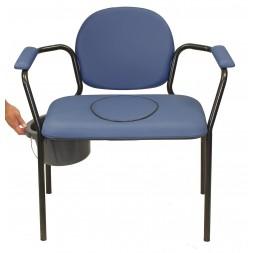 Fotel toaletowy BEST UP XXL do 160 kg - bardzo szerokie siedzisko
