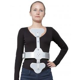 Orteza piersiowa trzypunktowa stabilizująca kręgosłup