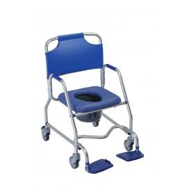 Lekki wózek sanitarno-prysznicowy z miękkim siedziskiem OBANA