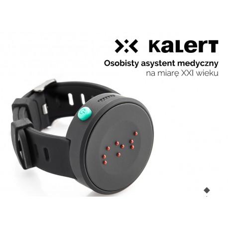 Inteligenta opaska na rękę łącząca lokalizator GPS i funkcje telefonu