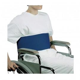 Pas stabilizujący (zabezpieczający) do wózka inwalidzkiego - mocowanie brzuszne