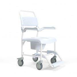 Wózek toaletowy i prysznicowy PLUO 2 w 1 od firmy Vermeiren