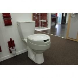 Miękka nasadka toaletowa z klapą Contact Plus
