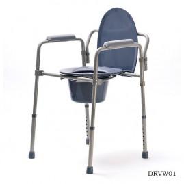 Krzesło toaletowe z regulacją wysokości VITEA CARE