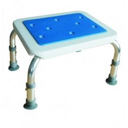 Taboret łazienkowy do wanny prostokątny z serii BLUE z miękkim siedziskiem 528000 ASTON