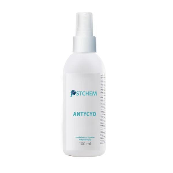 Specjalistyczny i profesjonalny preparat antybakteryjny ANTYCYD w sprayu 100 ml