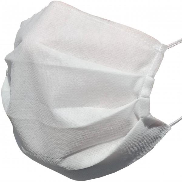 Polskie maseczki ochronne z trójwarstwowej z tkaniny polipropylenowej - 10 sztuk