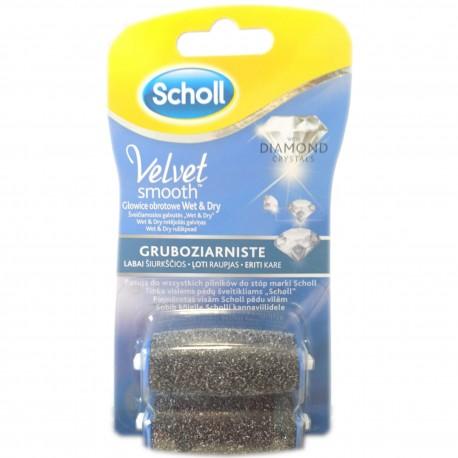 Scholl Velvet Smooth™ Gruboziarniste głowice obrotowe