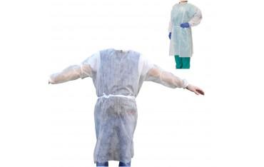 Jednorazowy fartuch ochronny medyczny