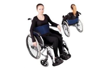 """Pas stabilizujący (zabezpieczający) do wózka inwalidzkiego - mocowanie brzuszne """"I"""""""