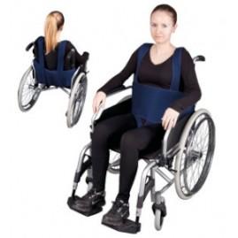 """Pas stabilizujący do wózka inwalidzkiego z ujęciem krocza i szelkami """"IV"""""""