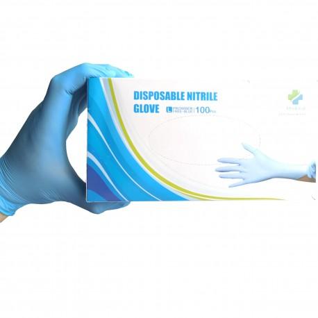 Diagnostyczne rękawice nitrylowe bezpudrowe MED DEAL