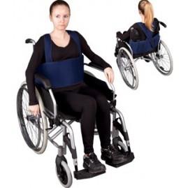 """Pas stabilizujący (zabezpieczający) do wózka inwalidzkiego z szelkami """"II"""""""