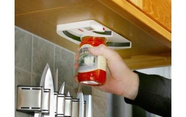 Otwieracz do słoików i butelek montowany pod szafką