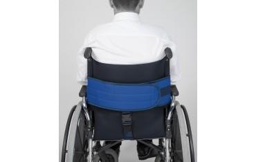 Pas do wózka stabilizujący miednicę z ujęciem krocza