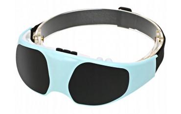 Masażer do oczu - okulary masujące niwelujące ból skroni