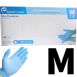 Rękawiczki nitrylowe bezpudrowe Essenti Care