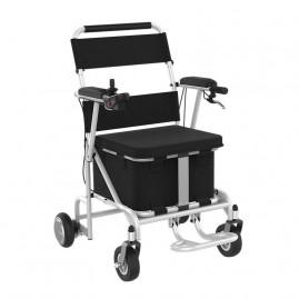Wózek inwalidzki elektryczny do jazdy po domu sterowany z pomocą aplikacji Airwheel H8