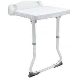 Krzesło prysznicowe - montowane do ściany