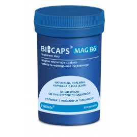 Suplement diety magnez + witamina B6 FORMEDS BICAPS MAG B6