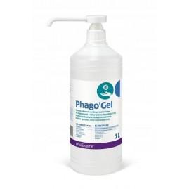 Żel do higienicznej i chirurgicznej dezynfekcji rąk Phago'Gel - 1 l z pompką od firmy MediLab
