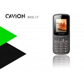 Najtańszy telefon komórkowy Cavion Base 1.7. - 2 karty sim i wytrzymała bateria