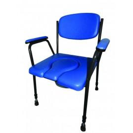 Krzesło toaletowe z regulacją wysokości Antar AT51019