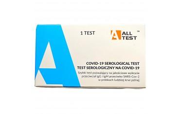 Szybki medyczny kasetowy test na przeciwciała COVID19 - DOKŁADNOŚĆ AŻ 95%