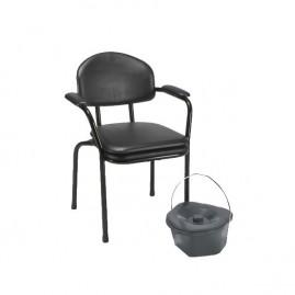Krzesło sanitarne nieskładane