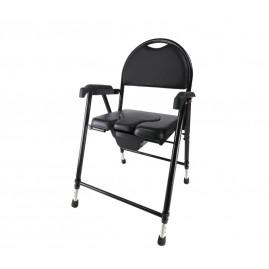 Krzesło toaletowe z miękkim siedziskiem składane AR-102