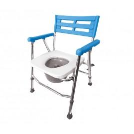 Krzesło toaletowo - prysznicowe składane
