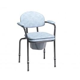 Krzesło toaletowe z regulacją wysokości siedziska