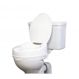 Wysoka nasadka toaletowa z klapą do 180 kg - wysokość 15 cm